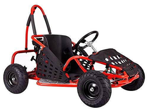 MotoTec 79cc Off Road Go Kart in Red