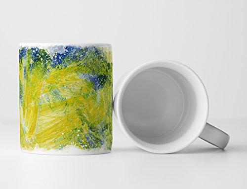 EAU ZONE Design Abstrakt Tasse Geschenk