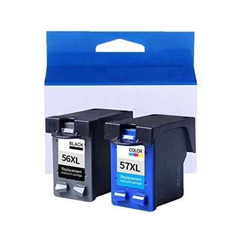 JZMY Cartuchos de tinta para impresoras HP Deskjet 450, 5150, 9650, Photosmart 100, 230, 7150, color PCS 1110, 2105, 6110, todo en uno, servicio de dos conjuntos