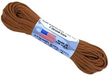 A.C. Free Shipping New Kerman - LE Atwood Rope 550-Pound Type III Ranking TOP3 Strand Pa Core 7