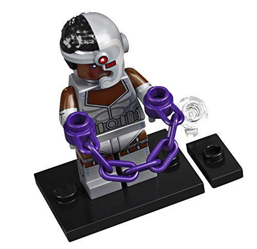 LEGO - Minifigs - DC Collectibles - colsh-9 - Cyborg (71026).