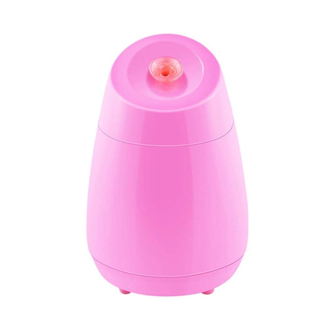 つらいパブ追加ZXF ナノスプレー水道メーター美容機器ABS材料ホットスプレーフルーツと野菜の蒸し顔ホームフェイシャルフェイシャルフェイスブルーセクションピンク 滑らかである (色 : Pink)