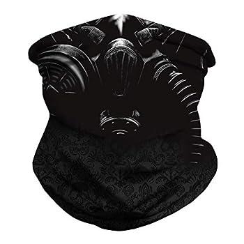 JSJCHENG Seamless Face Mask Neck Gaiter Protection Windproof Face Mask Scarf Gas mask