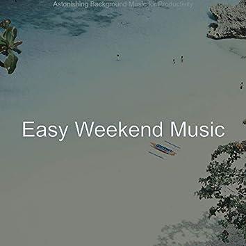 Astonishing Background Music for Productivity