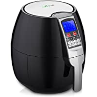 NutriChef 3.7-Quart Hot Air Fryer Oven with Digital Display