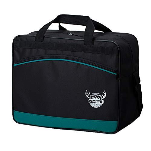 BambiniWelt24 Reisetasche HANDGEPÄCK Boardgepäck Bordcase 40x20x25 40x30x20 Ryanair WIzzair (türkis (klein))