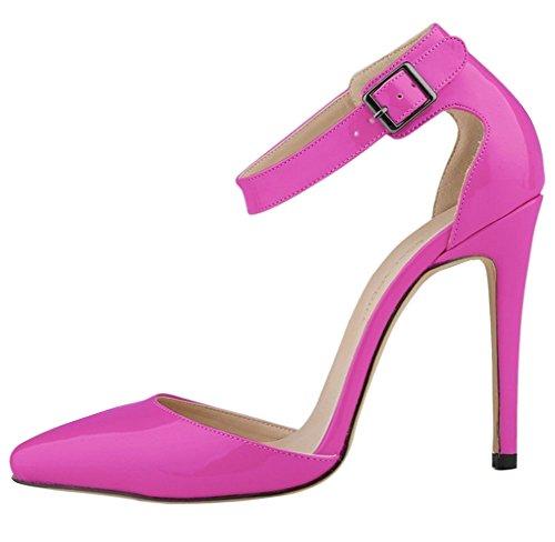 Minetom Mujer Zapatos de Tacón de Aguja Elegante 11 cm Clásicas Tacones...