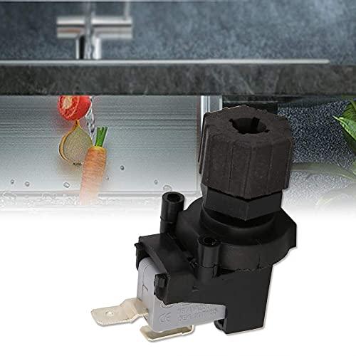 LANTRO JS - 125-250V Micro Interruptor, interruptor de presión de aire diferencial ajustable, micro interruptor de presión, para Triturador de Desperdicios de Comida y Jacuzzi