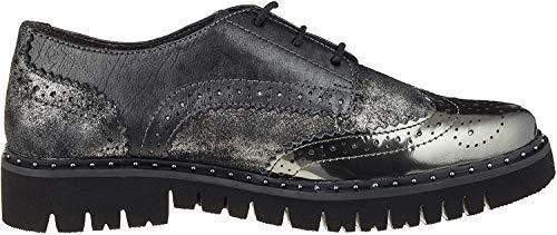 Gabor Shoes Damen Comfort Sport Derbys, Schwarz (Schwarz Kombi 39), EU