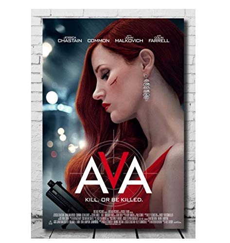 Art Ava Movie Cover Art classic Poster picture Print on canvas Living room and bedroom Decor Unique artwork Gift 50x70cm No Frame