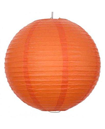 8 Inch sph rische lanterne en papier ? orange
