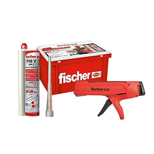 Fischer Vorteils - Box FIS V 360 S + Auspresspistole FIS DMS Handwerkerbox