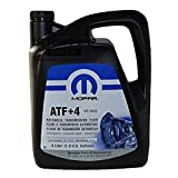 Genuine Chrysler Accessories (5013458AA) (68218058AC) ATF+4 Automatic Transmission Fluid - 1.3 Gallon / 5 Liter
