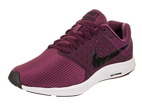 Nike Unisex WMNS Downshifter 7 Laufschuhe, Mehrfarbig (Tea Berry/Black/Bordeaux/White 602), 38.5 EU