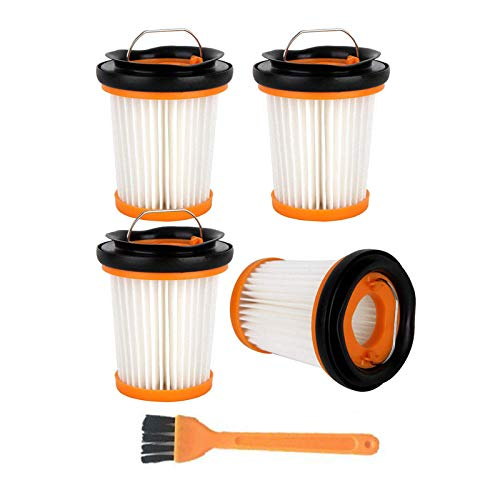 Octcosy 4pcs Replacement for Shark Filter,ION W1 Handheld Vacuum WV200, WV201, WV205, WV220. Compare to Part XHFWV200 Attachment