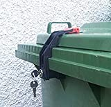 Mülltonnenverriegelung, 60 - 360 Liter, Gleichschließend (2 Stück)