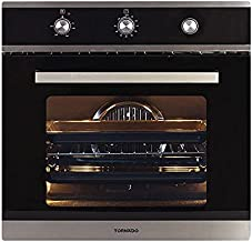 Tornado OV60GMFFS-2 Gas Stainless Steel Oven with Grill and Cooling Fan - 64 L, Silver Black