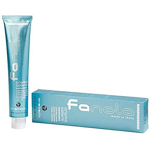 Fanola crema colore Colouring Cream 5.1 Hellbraun Asch, 100 ml