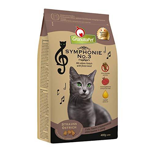GranataPet Symphonie No. 3 Strauss, Trockenfutter für Katzen, Alleinfuttermittel ohne Getreide & Zuckerzusätze, schmackhaftes Katzenfutter, 300 g