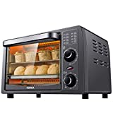 KONKA Mini Oven 13L Electric Oven with Temperature Setting 30-230°C and 60 Mins