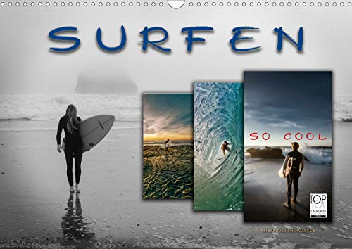 Surfen - so cool (Wandkalender 2020 DIN A3 quer)
