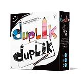 Asmodee - Duplik Big Box: un juego para diseñadores que no saben dibujar, juego de mesa, edición en italiano, 8139