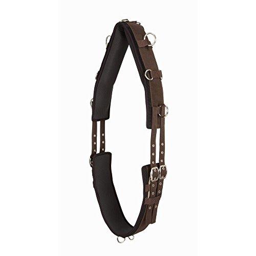 Tough 1 Neoprene Lined 12-Ring Nylon Surcingle (Horse)