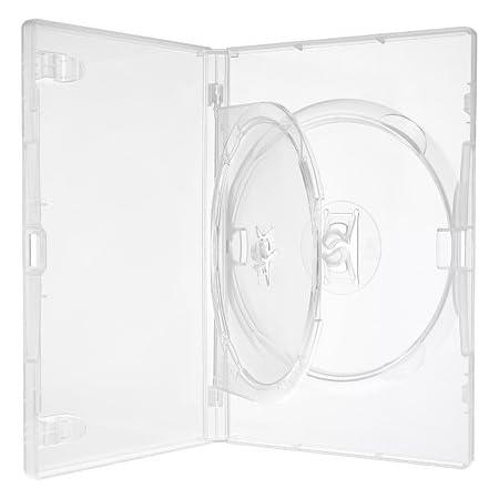 Amaray Dvd Hülle Transparent Für 2 Dvd Blu Ray Cd 25 Kamera