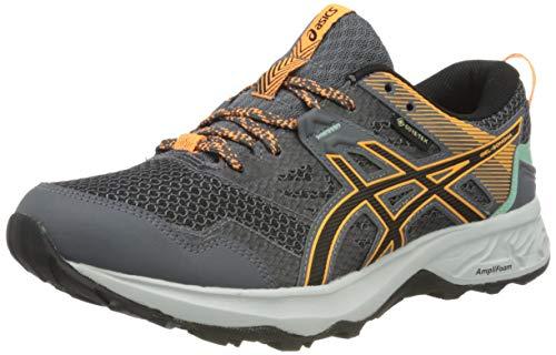 ASICS Womens Gel-Sonoma 5 G-TX Trail Running Shoe, Metropolis/Black, 37.5 EU