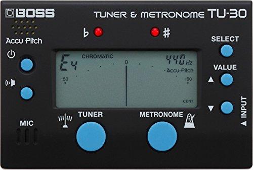 BOSS Sintonizador y metrónomo TU-30 (TU30)