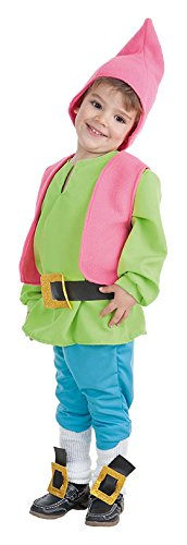 Creaciones Llopis dwerg-kostuum voor baby's tot 18 maanden, groen, eenheidsmaat