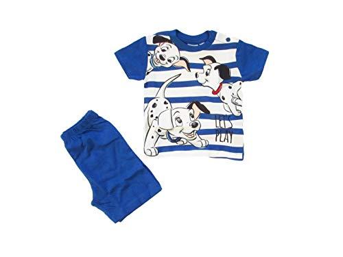 Disney Baby Pigiamino Corto Neonato LA Carica dei 101, Primavera Estate - 46273 (6 Mesi, Royal)