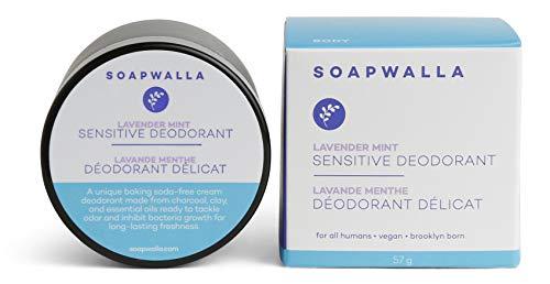 Sensitive Deodorant - Lavender Mint - SOAPWALLA