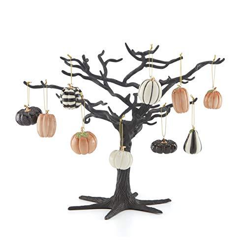 Lenox Mini Pumpkin 10-Piece Ornament & Tree Set, 7.20 LB, Multi, 11