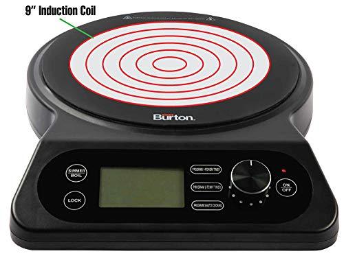 Max Burton #6600 Digital Induction Cooktop 18XL Counter Top Burner