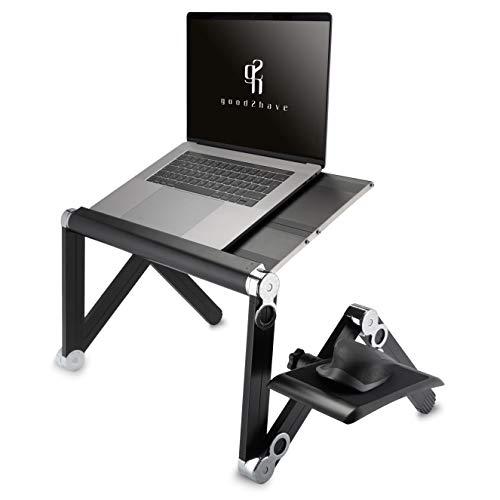 good2have - Laptopständer höhenverstellbar für Komfortables & gesundes Arbeiten & Surfen - Notebook Ständer mit dem Du flexibel bleibst - Auch für 17 Zoll (Laptop Halterung/Laptop Tisch)