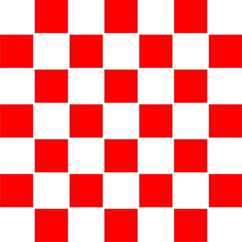 """SMALL SQUARES STENCIL (size 7""""w x 7""""h) Reusable Stencils for Painting - Best Quality Checkerboard Wall Art Décor Ideas - Use on Walls, Floors, Fabrics, Glass, Wood, Posters, and More…"""