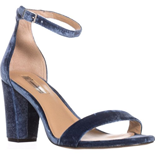 Price comparison product image INC International Concepts Womens Kivah Fabric Open Toe,  Cloud Blue,  Size 8.5
