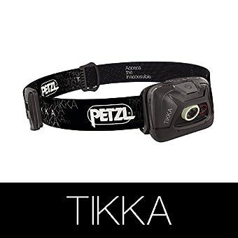 PETZL (ペツル) TIKKA ティカ E93 AA ブラック メーカー説明書付き(日本語あり) [並行輸入品]