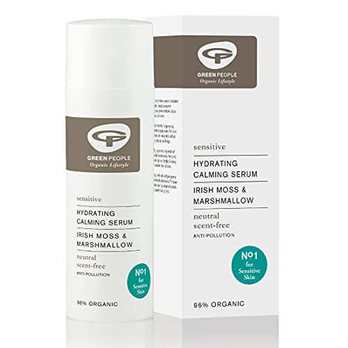 Green People Neutral Scent Free Hydrating Calming Serum, 50ml