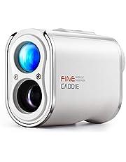 FineCaddie(ファインキャディ) J300 ゴルフ レーザー距離計 1,093yd 充電式 光学6倍望遠 高低差測定 スロープモードON/OFF PUレザー IPX4防水 超軽量 ケース付き レーザークラス1 プレミアム コンパクト 距離計 距離測定器