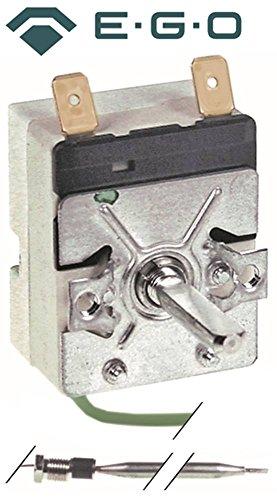 EGO 55.13024.020 thermostaat voor baardschaar, Morice, Scholl max. Temperatuur 110 °C 1-polig sensor ø 6 x 115 mm 1NO 30-110 °C 23 mm