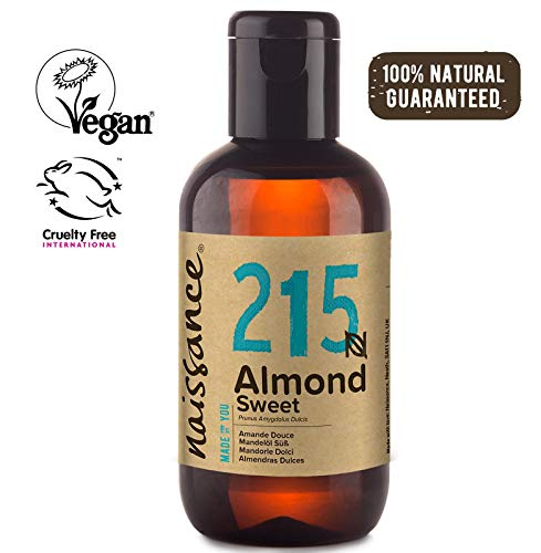 Naissance Aceite de Almendras Dulces n. º 215-100ml - 100% natural para...