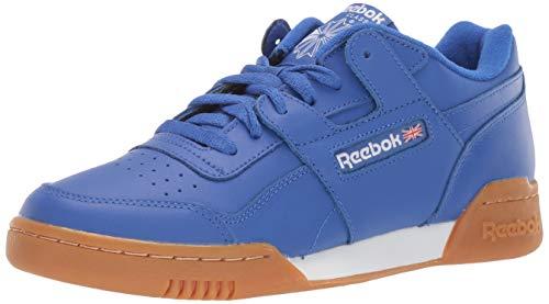 Reebok Men's Workout Plus Running Shoe, Crushed Cobalt/White/Gum, 9 M US
