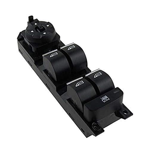 FANGSHUILIN Master Electric Power Window Controll Interruptor de Control Izquierdo 7S7T14A132BC FIT FOR Ford Mondeo MK4 S-MAX Galaxy 2007-2012 (Color : Black)