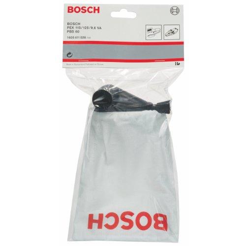 Bosch 1 605 411 026 - Saco para polvo para PEX 115 A/125 AE, PBS 60/60 E