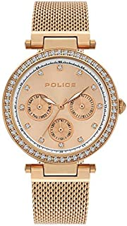 Police Mikkeli Analogue Rose Gold Case, Rose Gold Dial And Rose Gold Watch For Women - PL 15891MYR-32MM