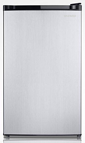 Daewoo FR-024RVSE Compact Refrigerator 2.4 Cu. Ft. | Silver