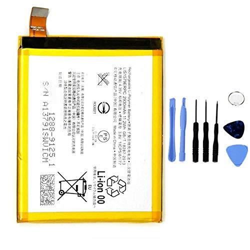 Ellenne Akku kompatibel mit Sony Xperia Z4 Z3+ Plus C5 Ultra E6553 LIS1579ERPC hohe Kapazität 2930MAH inkl. SMONT-Kit