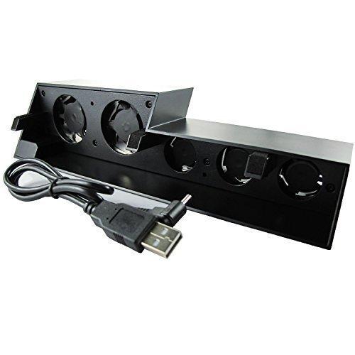WINGONEER® Súper refrigerador ventilador de refrigeración para PS4 [Playstation 4] - Negro